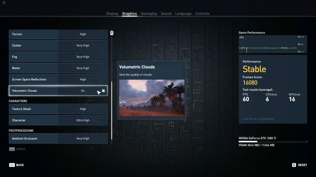 Assassins Creed Origins PC Settings - 3