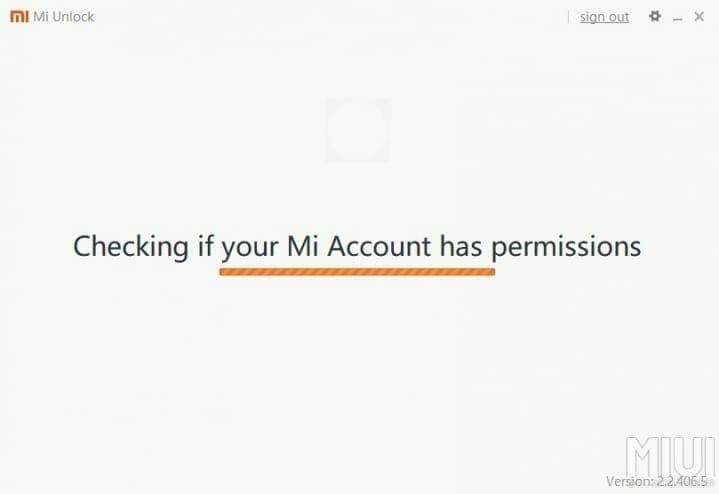 Xiaomi Phone Mi Unlock Tool Check