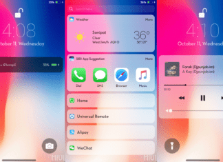 iPhone X Theme for Xiaomi Android Phones