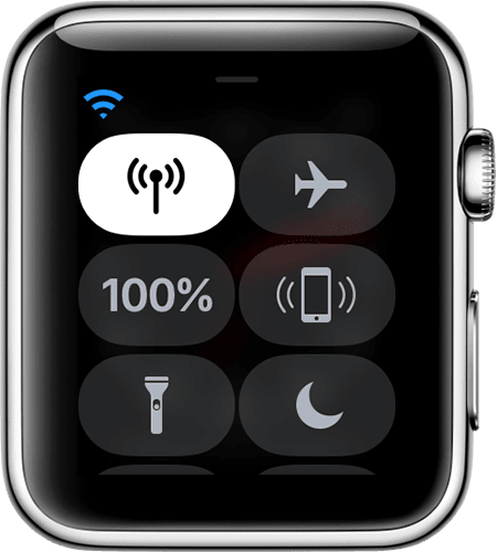 wifi conncted Apple Watch