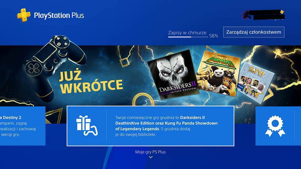 December's PlayStation Plus Revealed, Includes Darksiders II: Deathinitive Edition