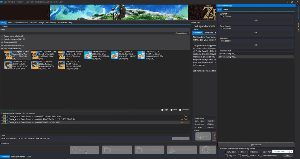Download The Legend of Zelda: BotW on PC using Cemu 1 11 2