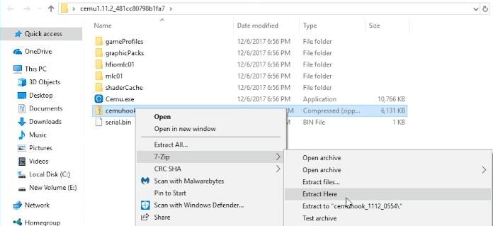 4 1 - Download The Legend of Zelda: BotW on PC using Cemu 1.11.2 /1.11.3