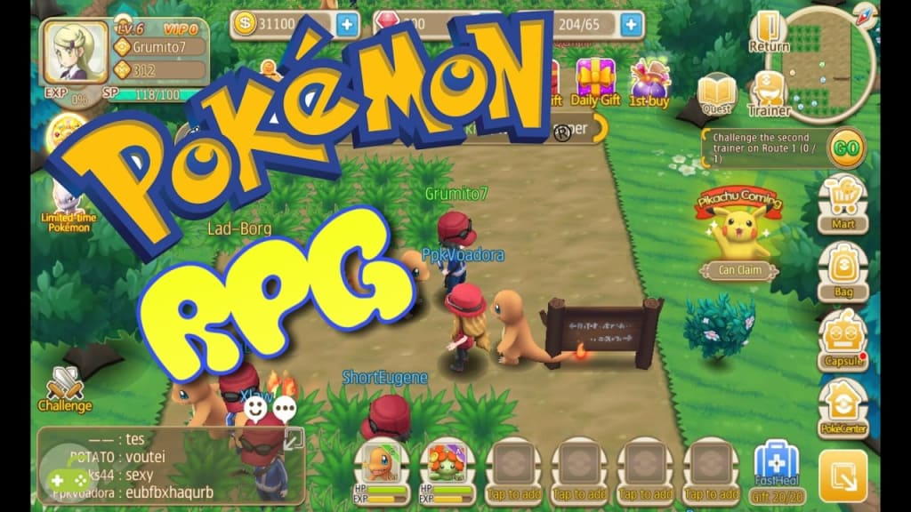 Pokemon RPG - Pokemon RPG Game for Nintendo Switch listed on EBGames!