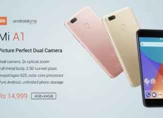 Xiaomi MI A1 India
