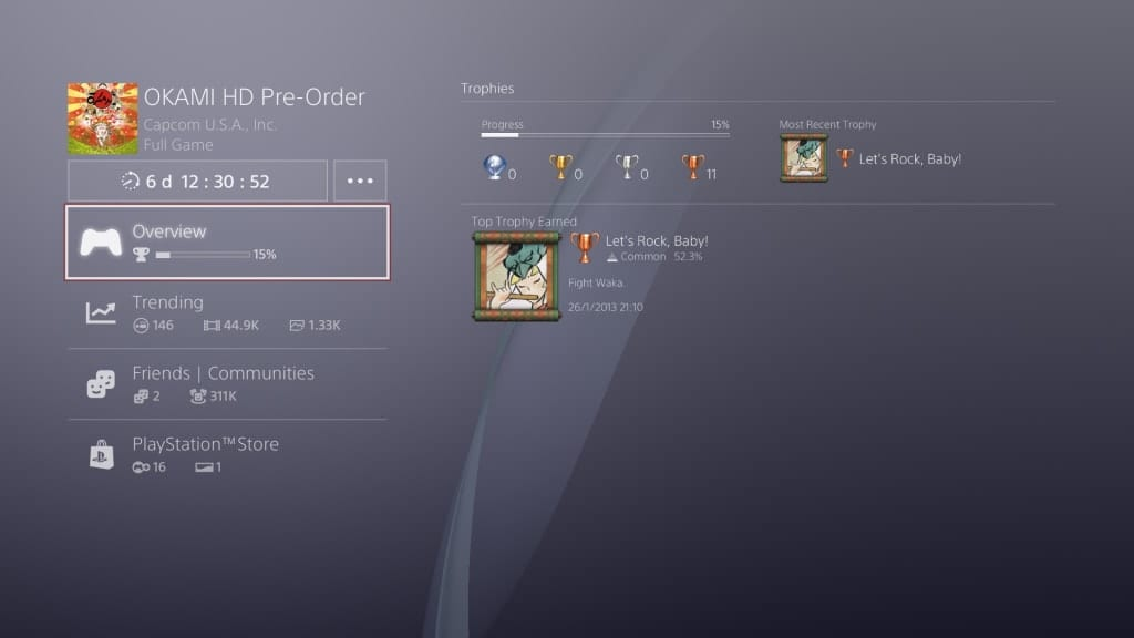 Okami HD PC and Xbox One Achievements