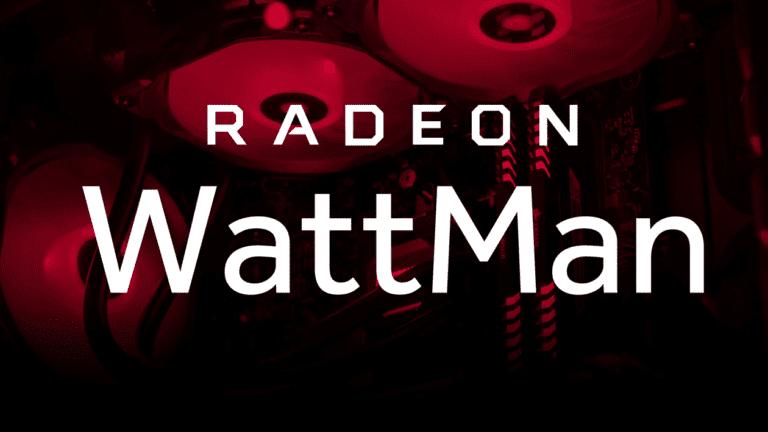AMD Wattman problem fix