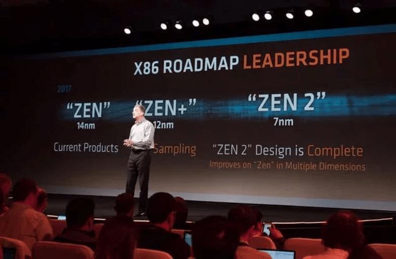 AMD zen chart we knew - AMD Ryzen 5 2600 and ASUS X470 Motherboard leaked