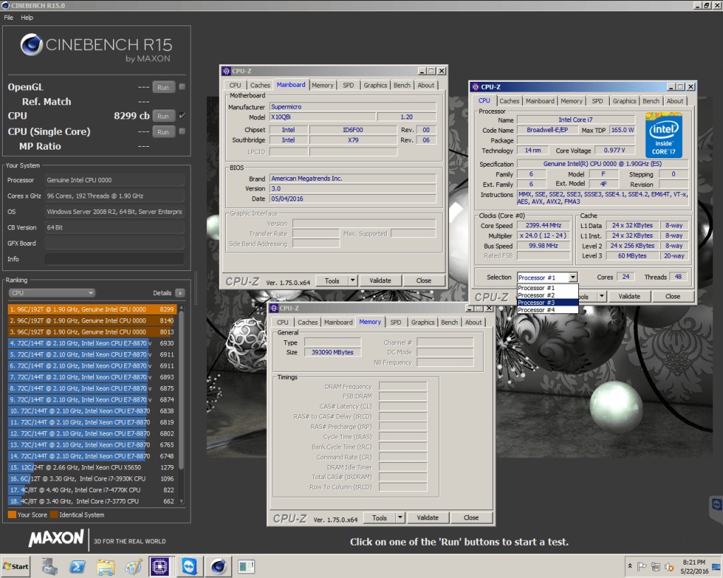 CineBench - Best Free CPU and GPU Benchmarking Tools.