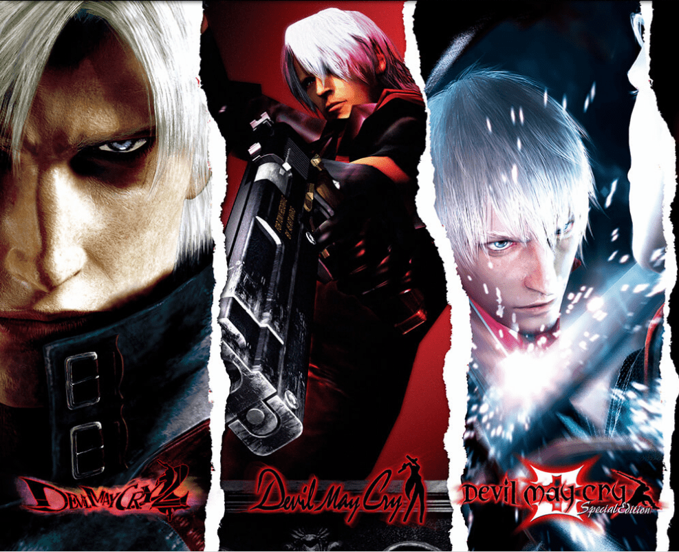 Devil May Cry HD Collection Games