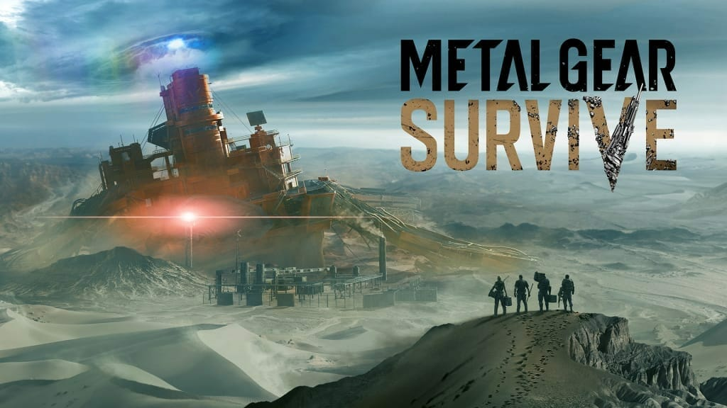 Watch six minutes of Metal Gear Survive single-player