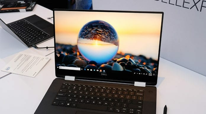 Dell XPS 15 with Intel Core i7-8705G and Radeon Vega M