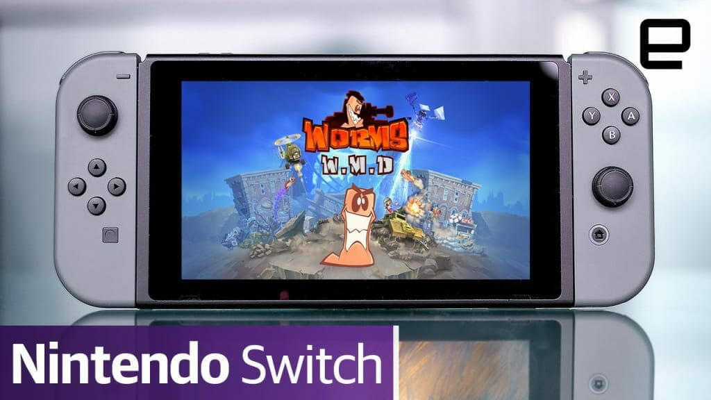 Worms W.M.D on Nintendo Switch