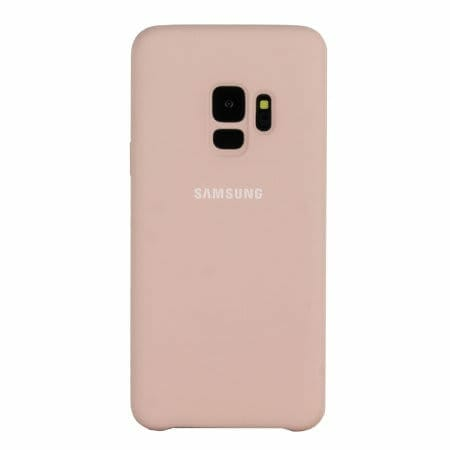 Samsung Galaxy S9 / S9+ Official Cases: Silicone Cover Case - Pink