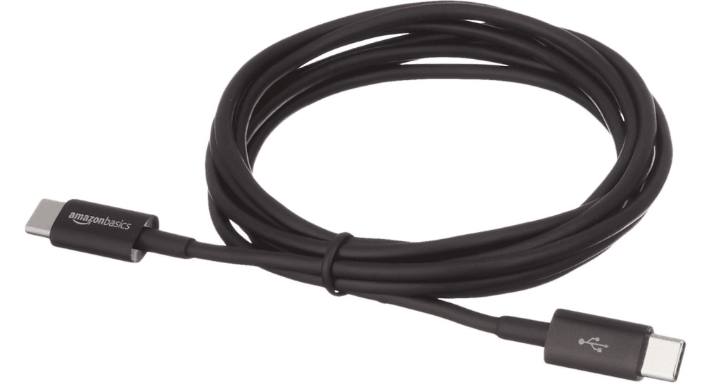 AmazonBasics USB C-to-C charging cables for Nintendo Switch