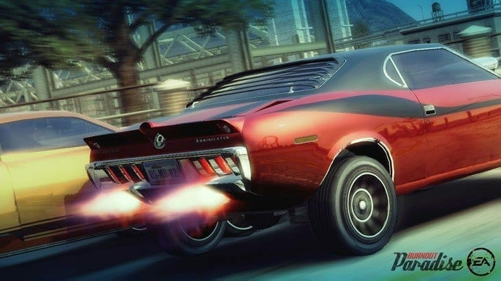 Burnout Paradise Remastered Peeling Out March 16