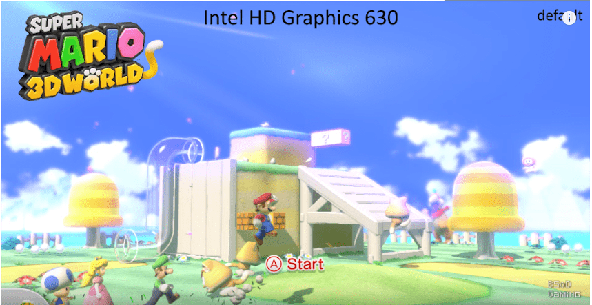 Super Mario 3D world before Cemu 1.11.4 Update