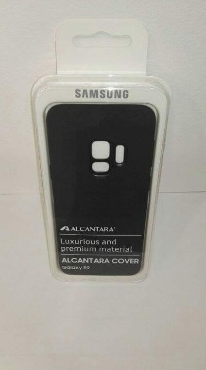 Samsung Galaxy S9 and S9+ Cases: Alcantara Cover