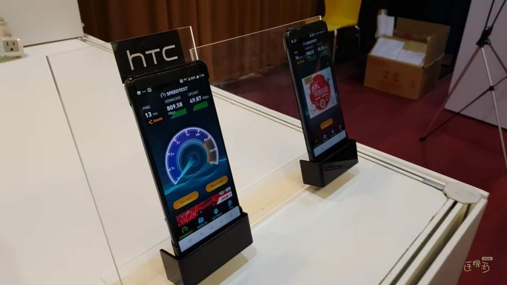 'HTC U12' With 5G Support Allegedly Previewed in Taiwan