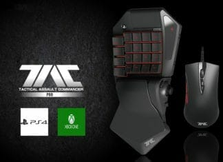 HORI TAC PRO for PS4 and Xbox One