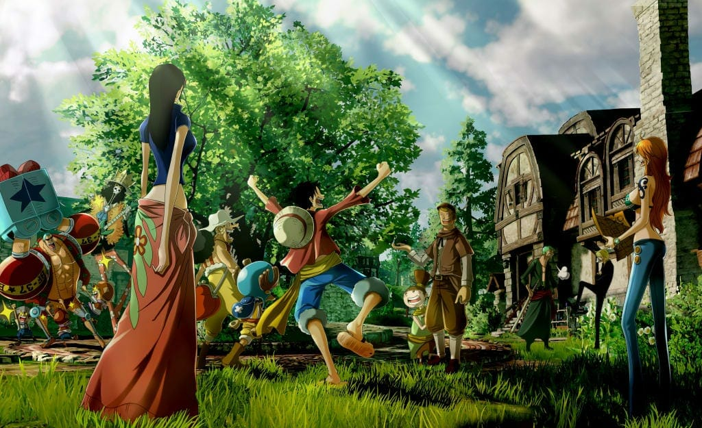 One Piece: World Seeker Concept Art