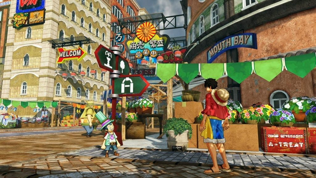 One Piece: World Seeker Screenshot