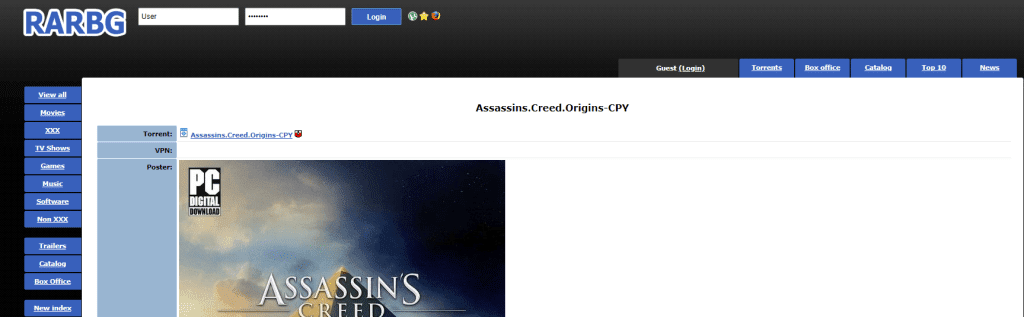 assassins creed origins crack password