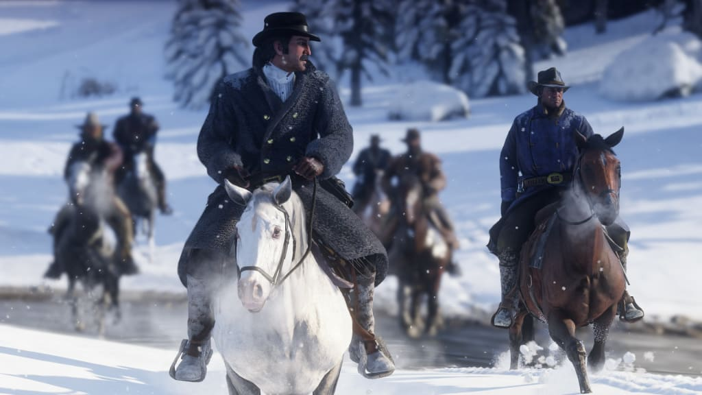 Red Dead Redemption 2 Will Have Battle Royale And First Person Modes