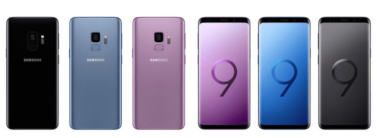 S9 colors