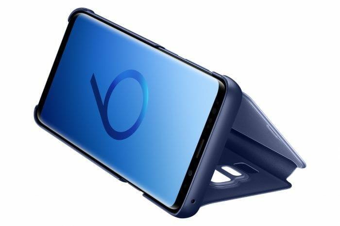 Samsung-Galaxy-S9-Alcantara-Standing-Cover