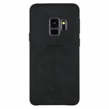 Samsung Galaxy S9 / S9+ Official Cases: Alcantara Black