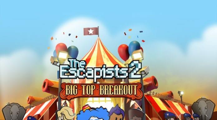 The Escapists 2 DLC Big Top Breakout