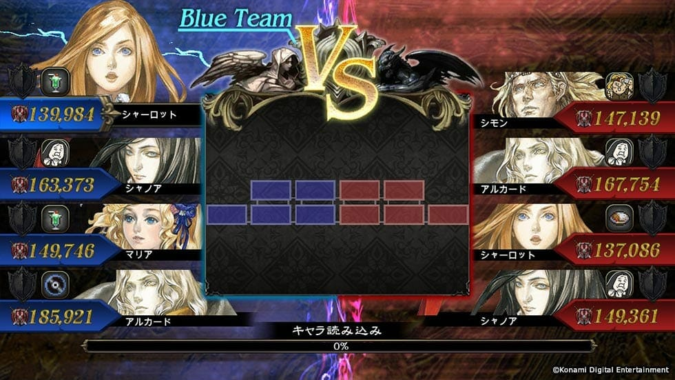 Konami's New iOS Project Revealed, Castlevania: Grimoire of Souls on Mobile