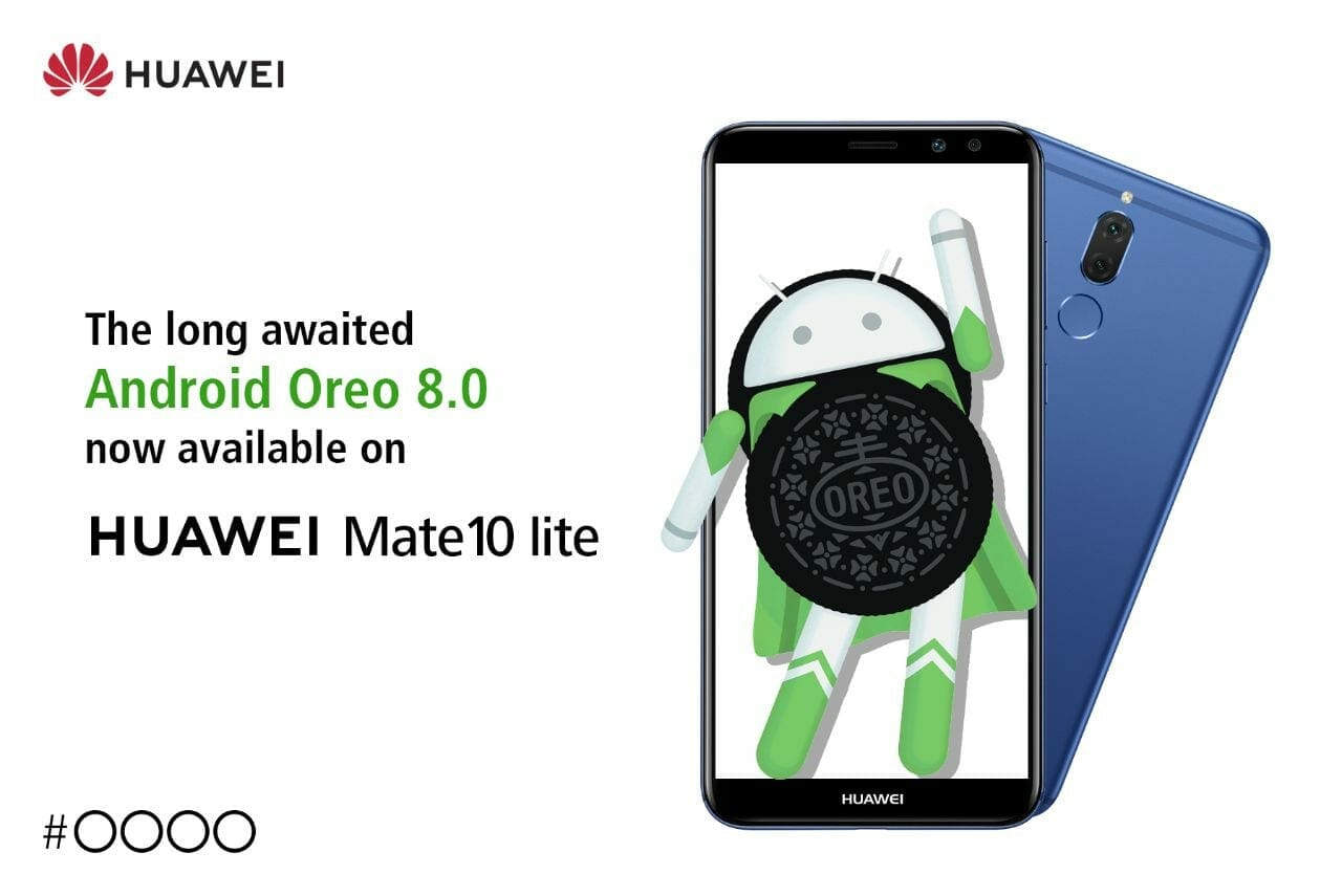 Update Huawei Mate 10 Lite to Android 8 0 (Oreo)