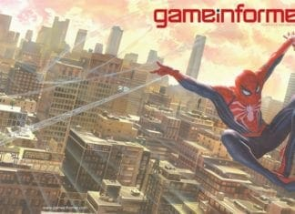 Spider-Man Game Informer Cover