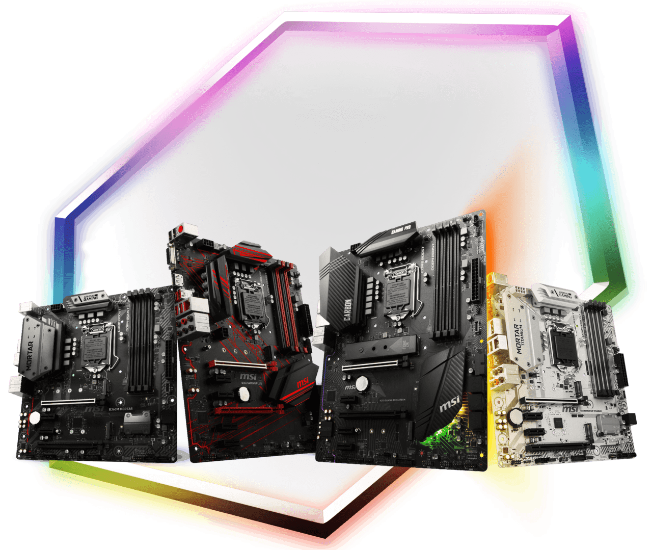 Motherboards for Intel 8th Gen Processors