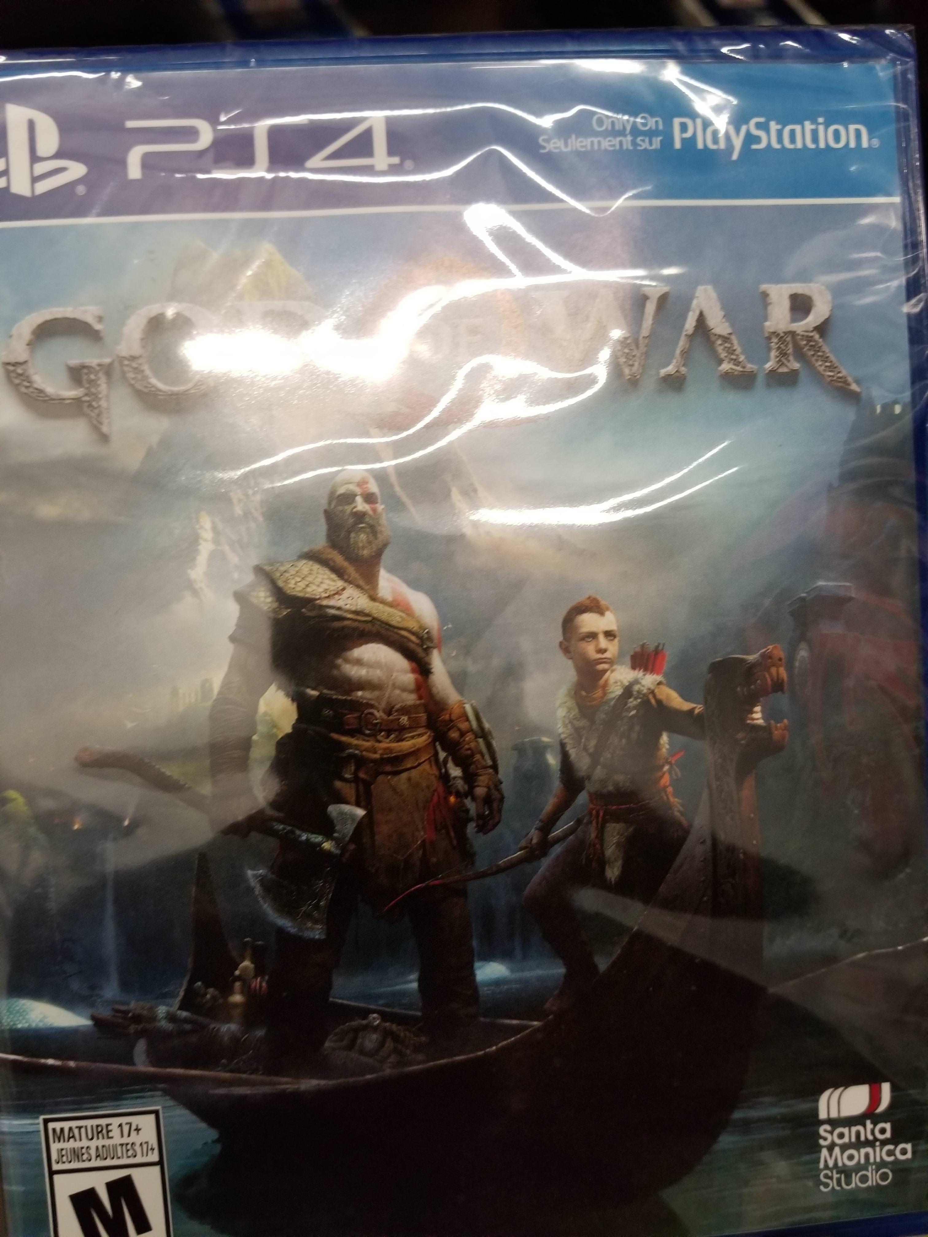 God of War PS4 Leaked
