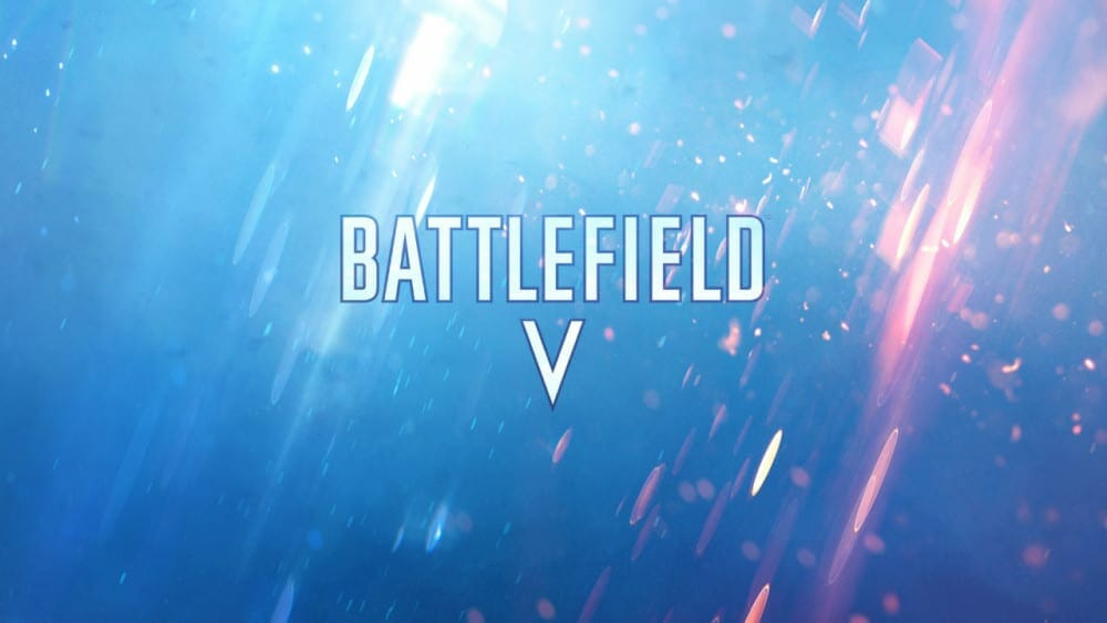 Battlefield V teaser flags World War II reference