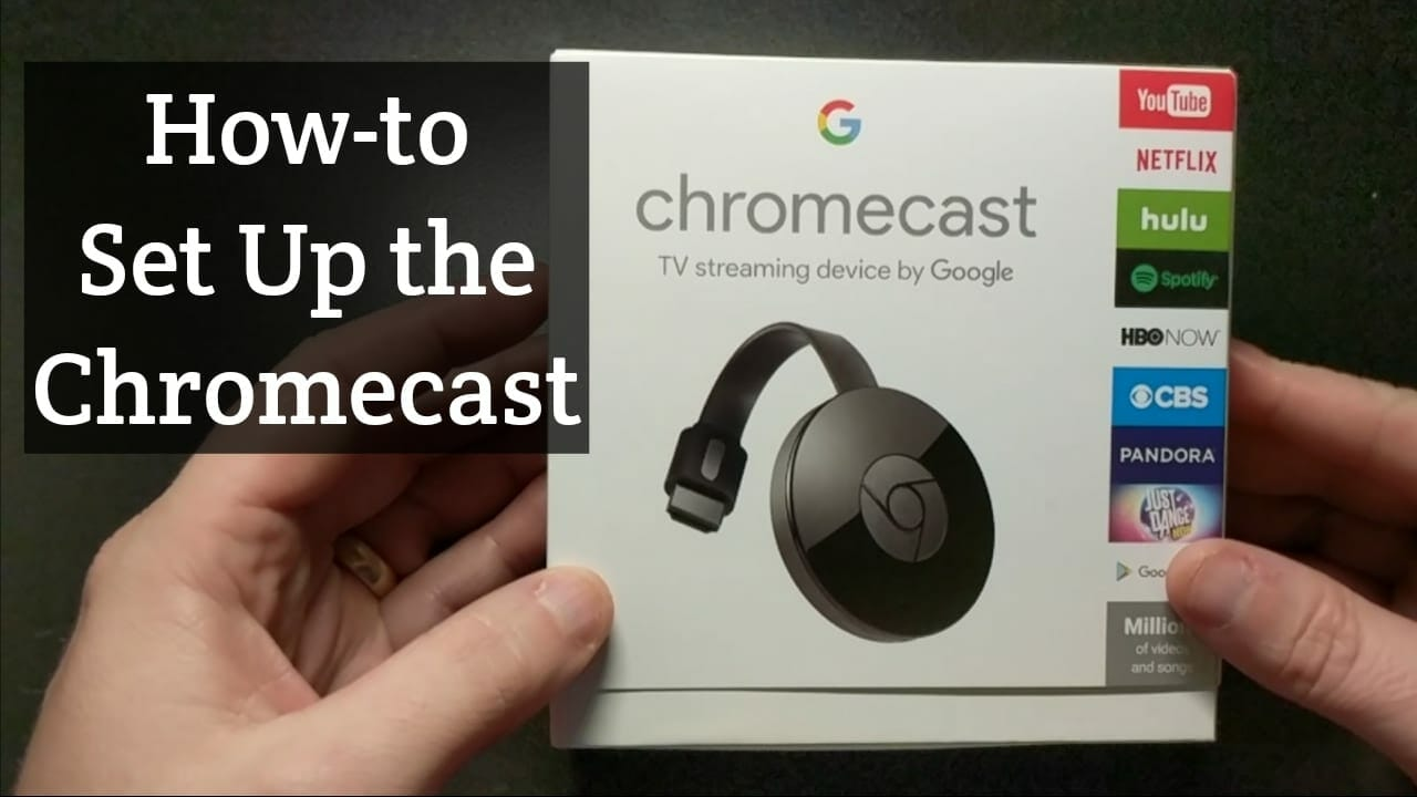 How does chromecast hook up
