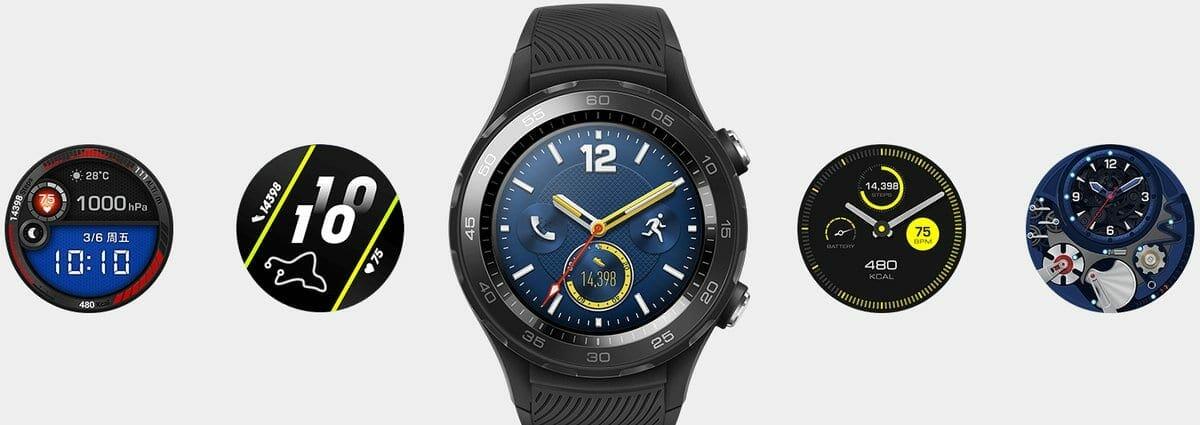 Huawei Watch 2 2018 Faces