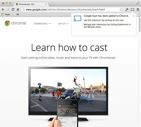 how to use vlc on chromecast on macbook