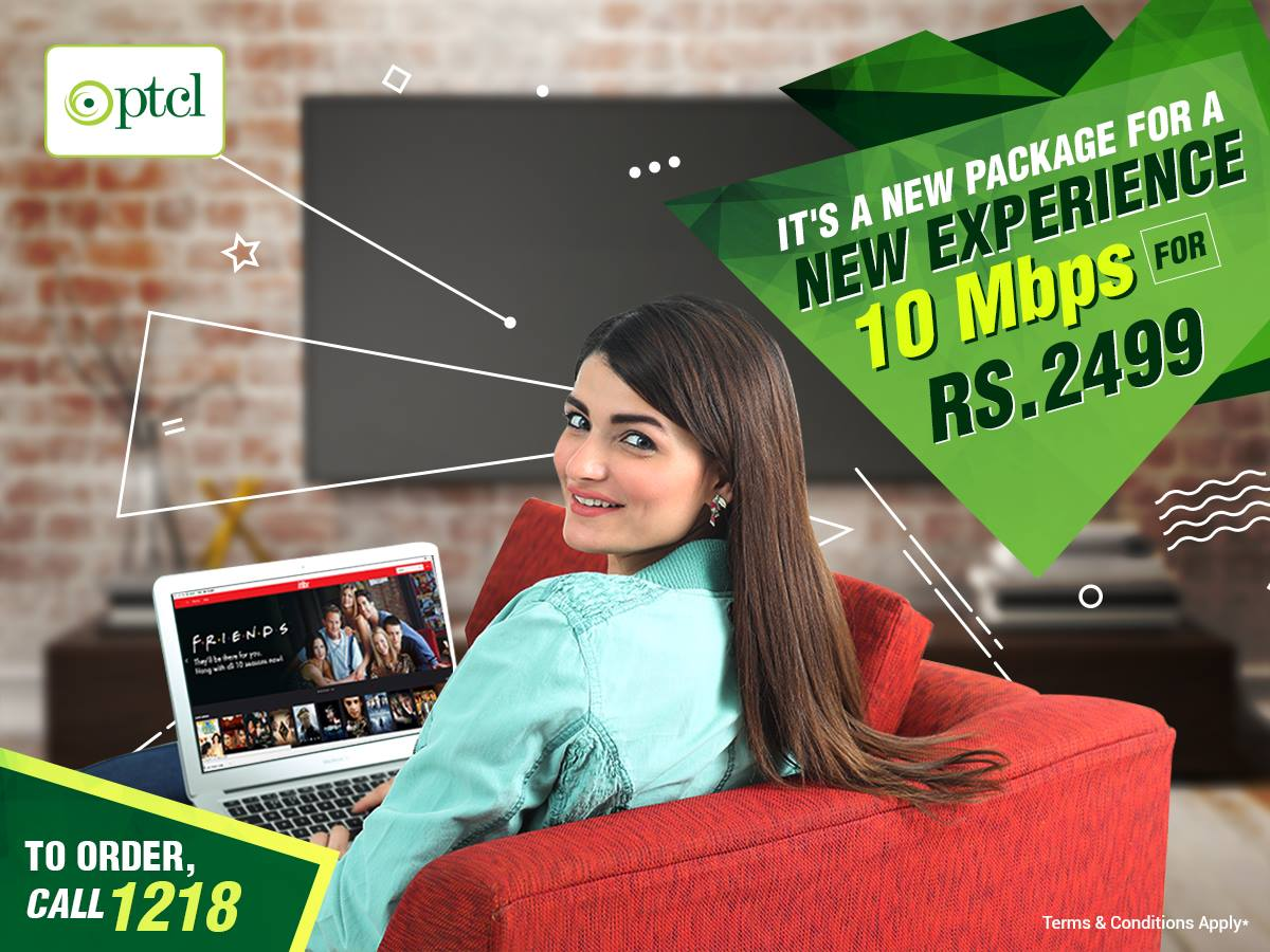 PTCL Internet Packages 10Mbps
