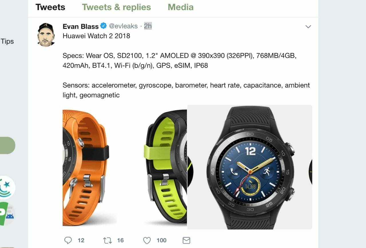 WhatsApp Image 2018 05 14 at 3.13.16 PM - Huawei Watch 2 2018 Specs Leaked: WearOS, SD 2100 and 4GB Storage