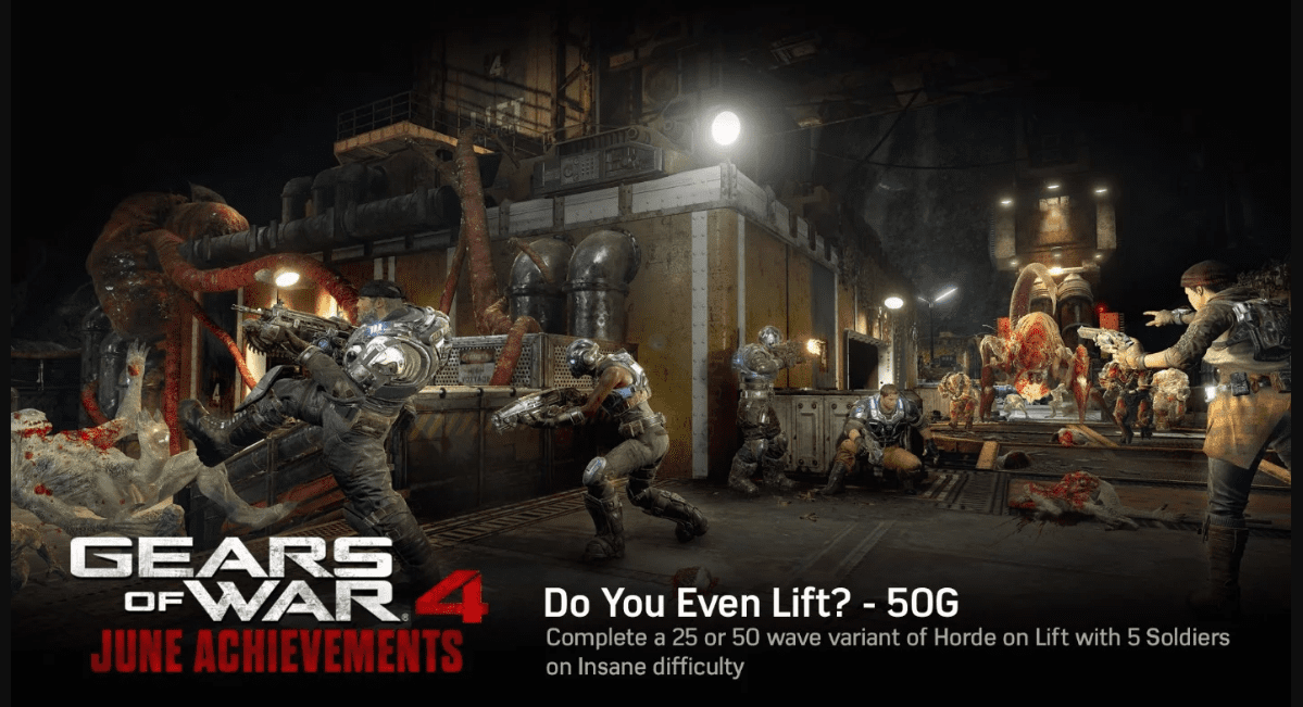 Gears of War 4 Mastery Achievements List