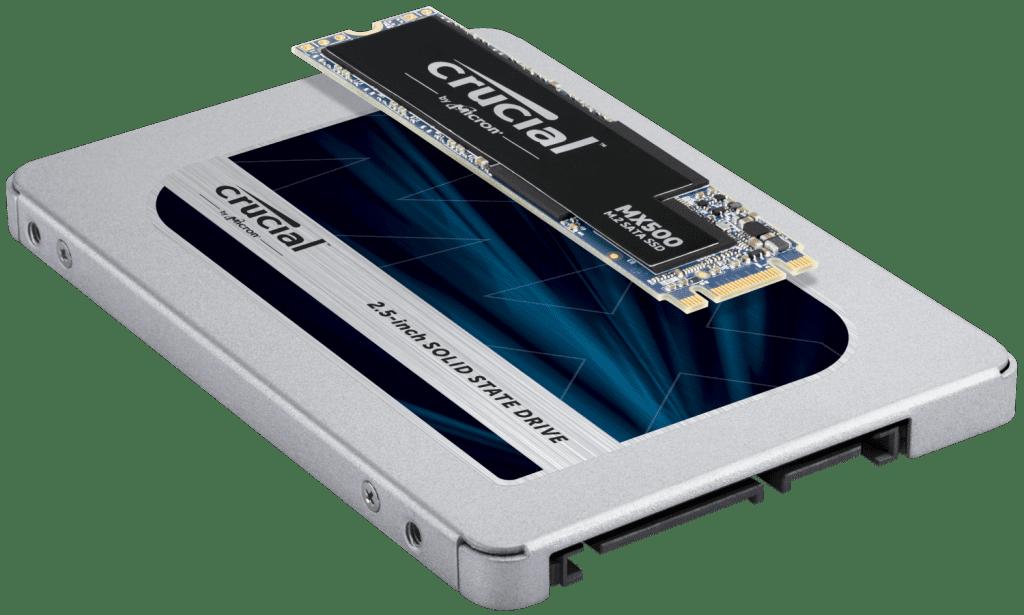 Crucial MX500 SSD Firmware M3CR022 Update