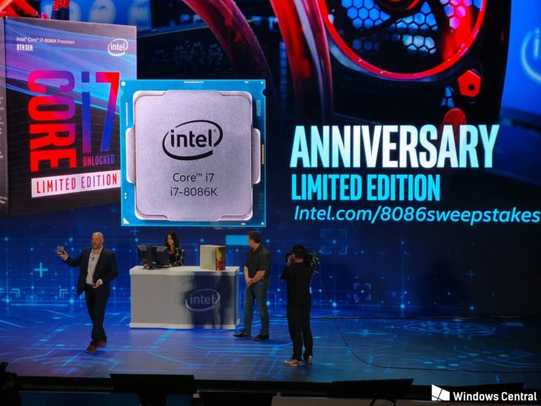 Intel Core i7-8086K Reveal Feature pic