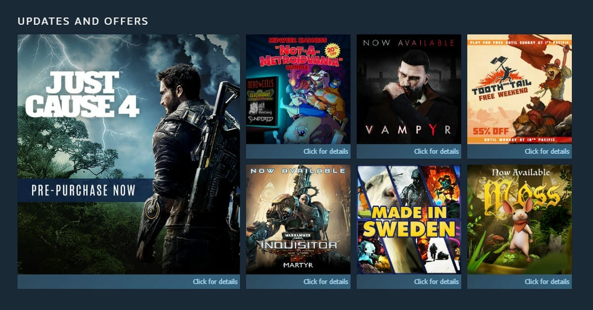 Just Cause 4 Leaked Steam Ad