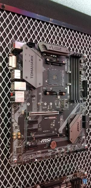 MSI B450 TOMAHAWK Motherboard Compatible with Ryzen 1 & 2