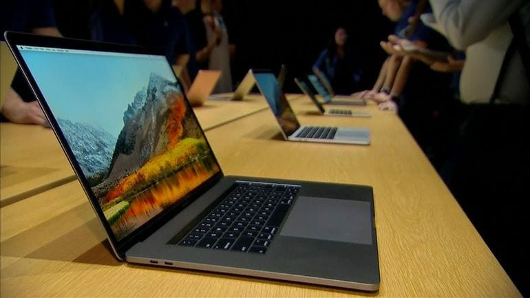 Macbook Pro 2018 Specs with Core i7-8750H