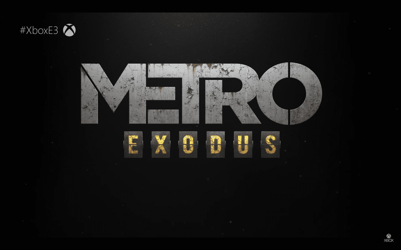 Microsoft Xbox E3 Metro Edodus Gameplay Trailer